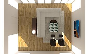 Healy Res. Living Clássico Sala de estar Lisa Gansebom