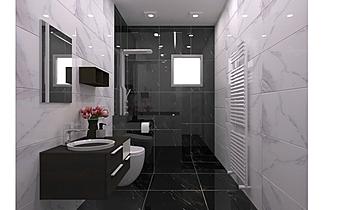Tamara Tomanič - kopalnic... Classic Bathroom Ales Povhe