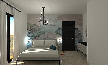 camera da letto ann Modern Hálószoba GENNARO SPAGNOLI