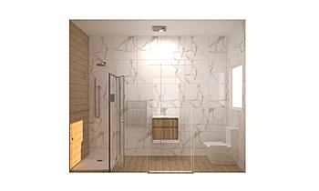 The Cloisters - BLK A - A... Modern Bathroom Kirsty Farrugia