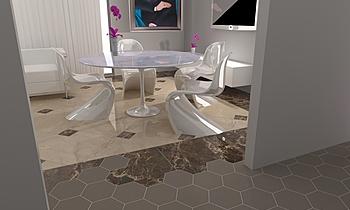 Fcchinetti soggiorno Classic Living room Alessandro Genovesi