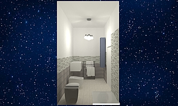 Bagno sig. Valvo Modern Bathroom Sonia Nisi