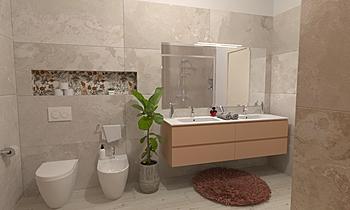 Bagno grande Modern Bathroom GREGOLO SRL
