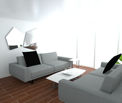 Lyons Room Design 2 Modern Living room Natuzzi Italia QLD