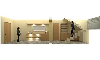 INGRESSO BENVENUTI Classic Living room Francesca Faraoni