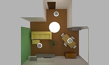 Salotto 4 Contemporâneo Sala de estar Rossella Rubino