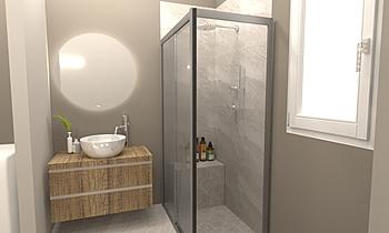 Elena Modern Bathroom FABBRI IDROTECNOTERMICA srl FABBRI