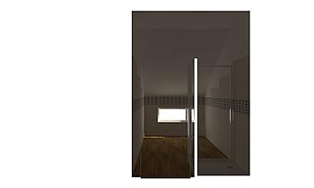 BAGNO MANSARDA _ serie TR... Modern Bathroom GUIDO SOFFRITTI