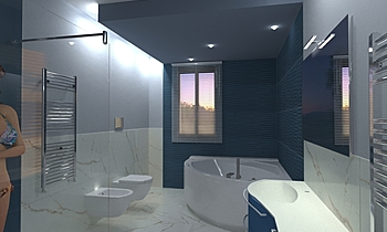 Giangreco Vincenzo Contemporary Bathroom Antonino Stracuzzi