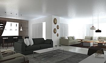 Natuzzi Beirut 1 Modern Living room Omar HADDI