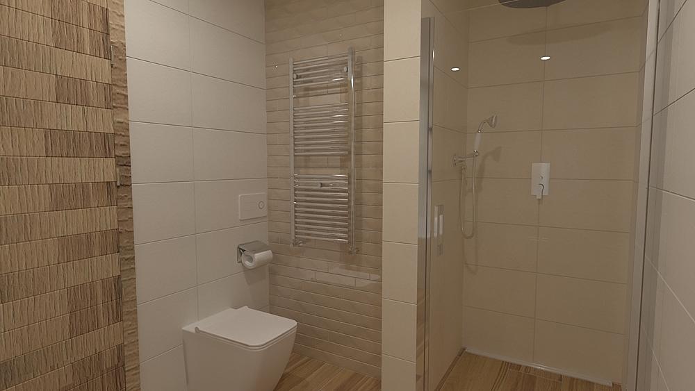 Rako Mano wood Modern Bathroom Vít Bönisch