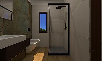 Bagno Deco Rust Modern Bathroom ROBERTO CAPACCHIONE
