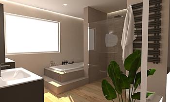 arch. passera Modern Bathroom D M s.r.l.