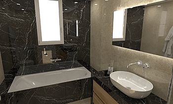 PIEDRA MPANIO Modern Bathroom HOUSE LTD