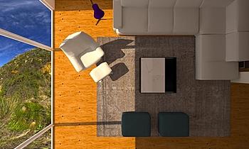 EM Amaya R 3d Classic Living room Natuzzi Italia Store Donosti