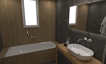 RIBBON MPANIO Moderno Bagno HOUSE LTD