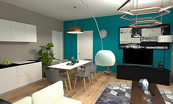 sala e cucina Modern Bucătărie GREGOLO SRL