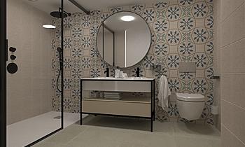 Espada Baño princ S&E P18... Modern Bathroom Equipamientos Espada