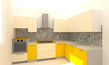 Cucina decorata Clasic Bucătărie Francesco Coatti