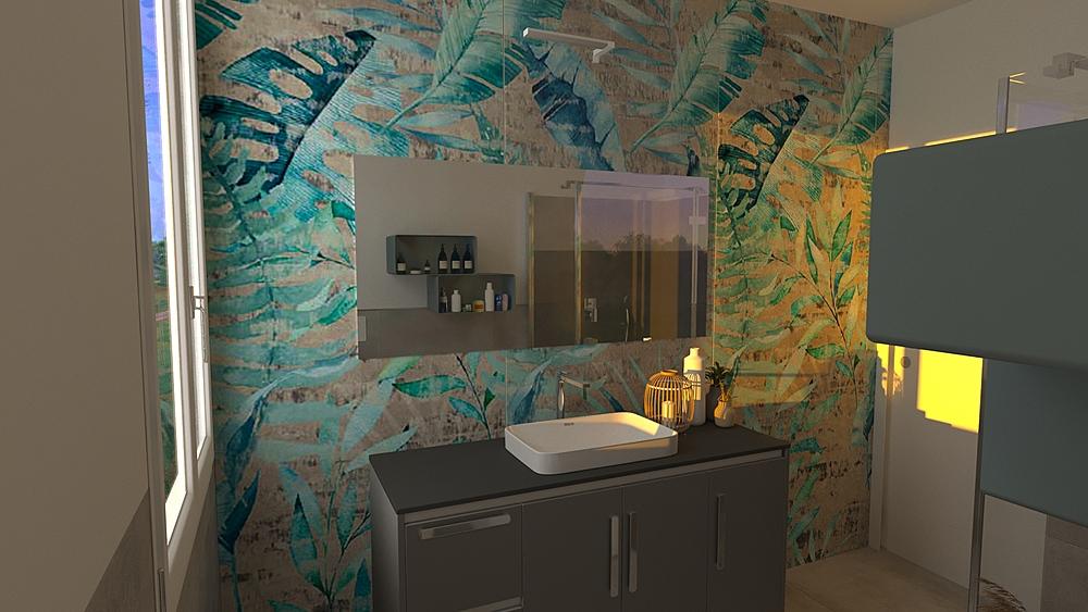 Bagno Modern Bathroom Luana Cossu