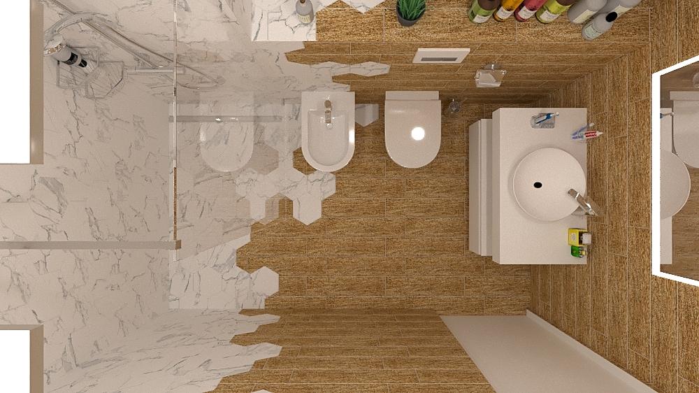 Hexagon Bath 2 Modern Bathroom Mladen Popov
