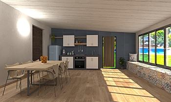 Cucina Salina Contemporan Bucătărie Giovanni Milone