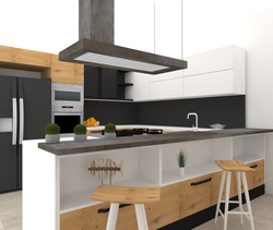 cucina Contemporary Kitchen Alfredo De Gregoris