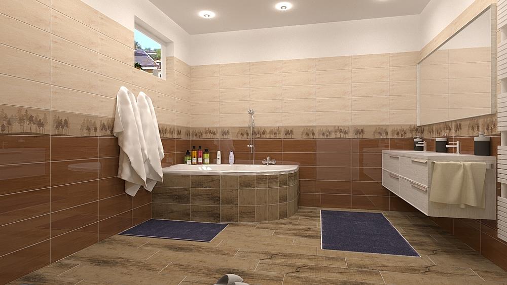 OH - Balmoral Clássico Casa de banho  Terrakotta  Csempecentrum