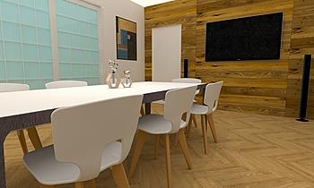 Piano Terra con Cementine... Classic Living room Francesco Piovan