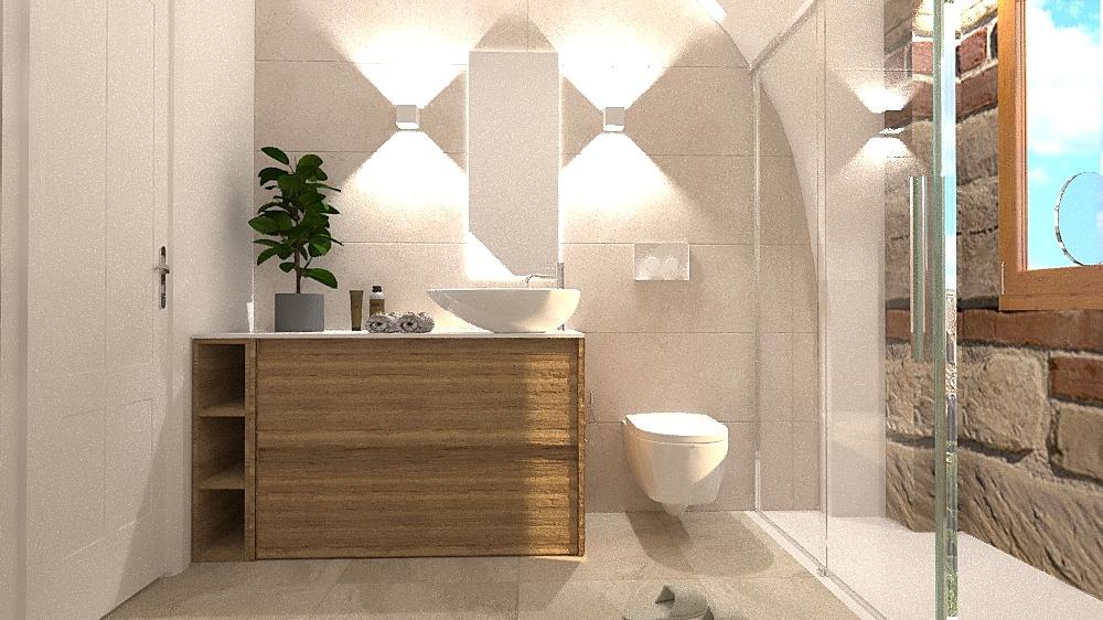 BAGNO PIANO TERRA Modern Bathroom Beatrice Dolcetti
