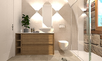 BAGNO PIANO TERRA Modern Baie Beatrice Dolcetti