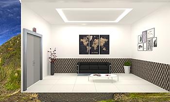 Project 1 Klasyczne Pokój dzienny Feruni Ceramiche Sdn Bhd frspj