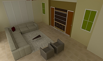 Ahmed Family Room Classic Living room Shar Smith