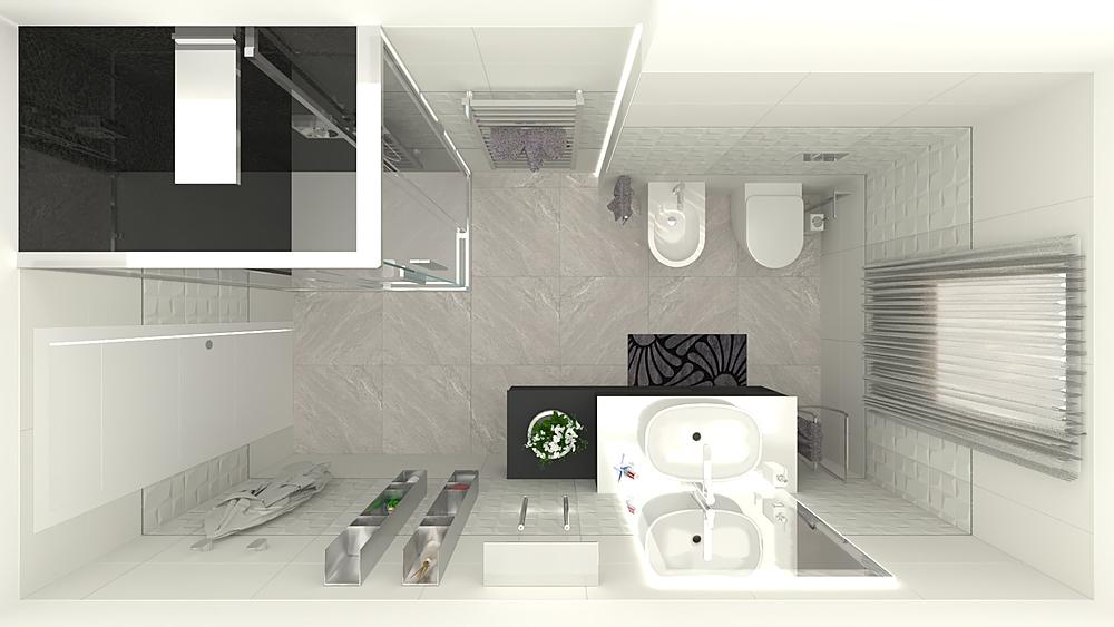 Costantino - Bagno 2 Модерн Ванная 3C srl