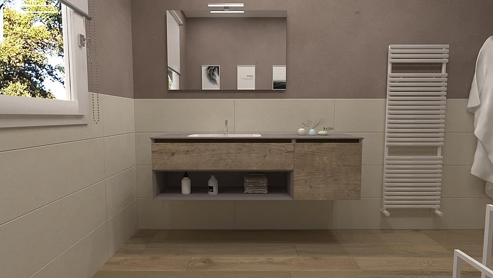 >Bagno Zona Giorno Classic Bathroom Francesco Piovan