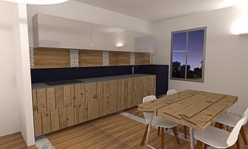 Case nel Verde Contemporâneo Cozinha mario mastrogiacomo