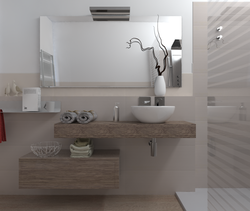 Bagno 1 Contemporary Bathroom Federico Frigo