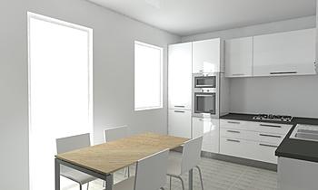 Kitchen Model 1 Clasic Bucătărie Sol Farahmand