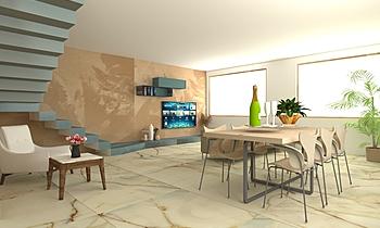 LIVING-REX ARMONIE Modern Living room Titti Palumbo