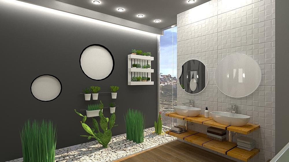 Morella 1 Modern Bathroom BdB GARMON MORELLA S.L.