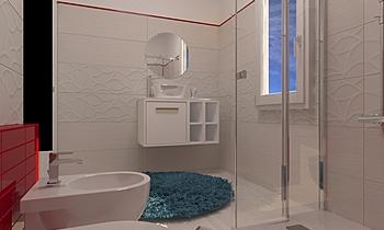bagno dom Модерн Ванная Secci Casa