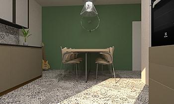 soggiorno-cucina Klasyczne Pokój dzienny alberto gramellini