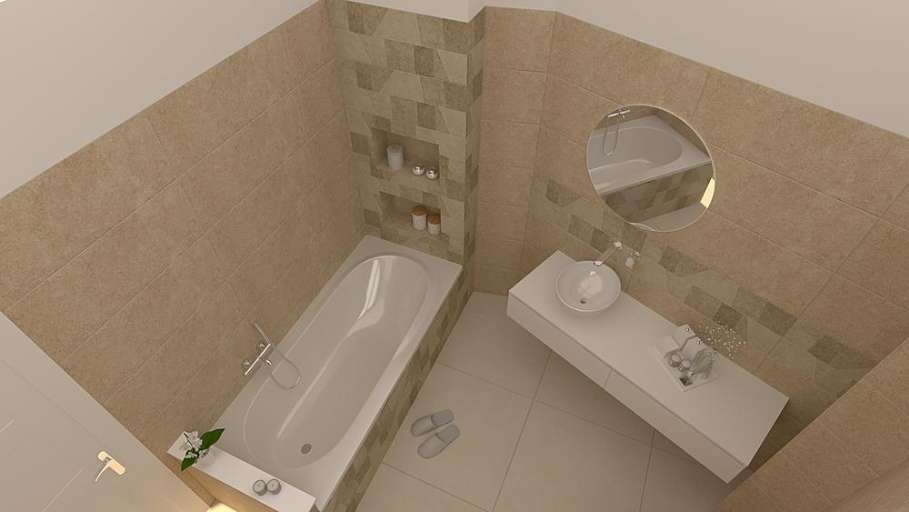 1 Модерн Ванная De Gregoris -  Dove Nasce Casa