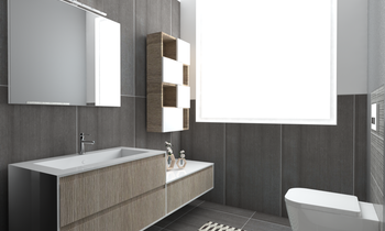 BOX NUMERO 2 Modern Bathroom Bovo Design