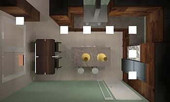 Cocina Margaritas_v1 Clasico Cocina Roblón Interiores