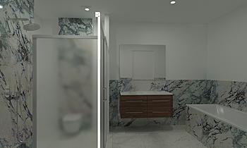 van Hooren badkamer maste... Klasický Koupelna Patrick van der Meer