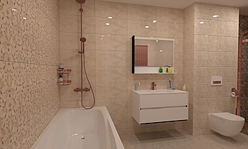 Kerama marrazi Classic Bathroom Mladen Popov