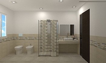 BAGNO CINZIA E MASSIMO Klasický Koupelna JESSICA ORAZI
