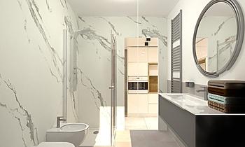 (Giorgio) Pitanesi bagno ... Klasický Koupelna Alberto Parma