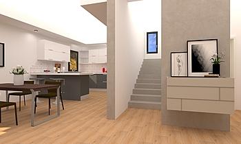 Ground Floor - Modern Hou... Současný Uživatelský COVERINGS .IT